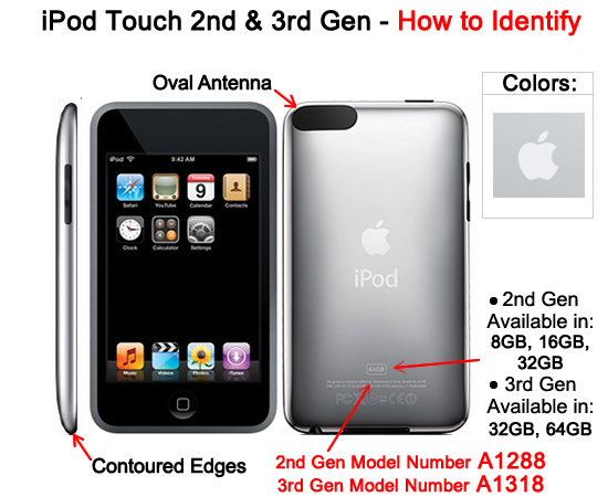 Ipod touch 2nd generation manual.